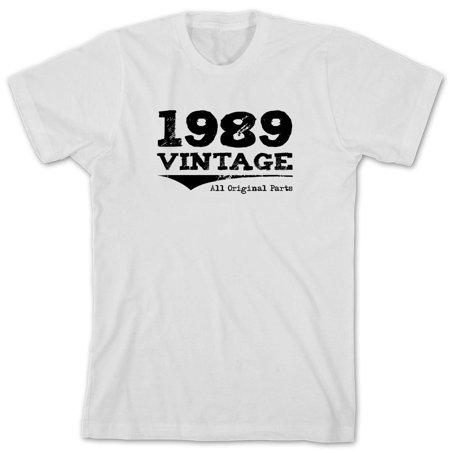 d6a38b82 Uncensored Shirts - Vintage 1989 All Original Parts Men's Shirt - ID: 960 -  Walmart.com