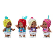 "My Sweet Love 5.5"" Fruity Friends 4 Mini Baby Doll Set, African American, 8 Pieces"