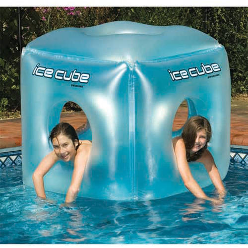 Swimline Ice Cube Pool Toy for Swimming Pools by Swimline