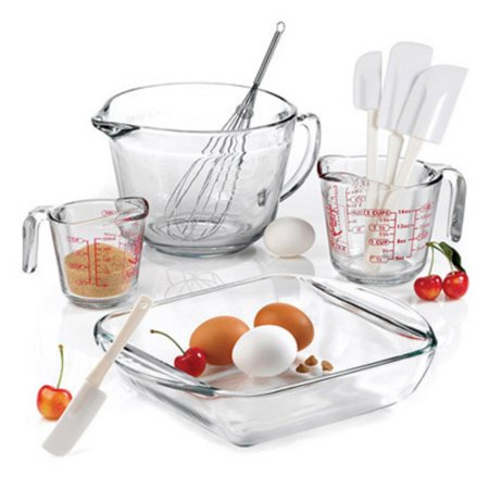 Anchor Hocking Mix/Measure Baking 9-piece Set