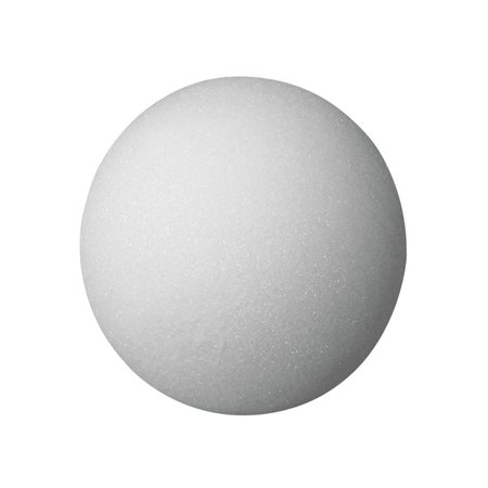 School Specialty FloraCraft Styrofoam Ball, 3 Inches, White, Pack of 12](Bulk Styrofoam Balls)