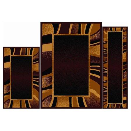 Home Dynamix Ariana Konya 3-Piece Area Rug Set ()