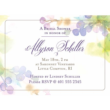 Kitchen Bridal Shower Invitations - Vineyard Standard Bridal Shower Invitation