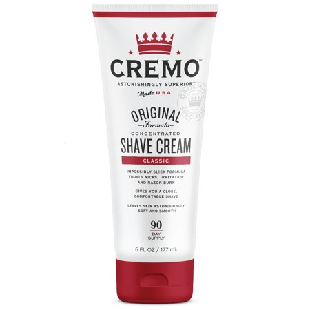 Cremo Shave Cream, Classic, 6 fl (Best Ddi Shaving Creams)