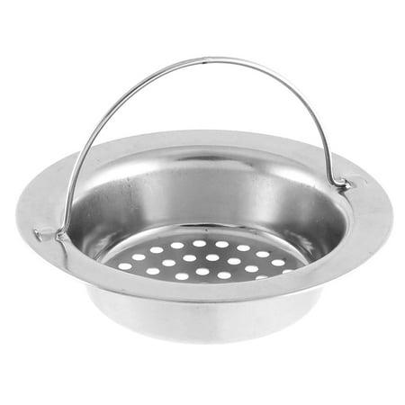 Unique Bargains 2 Pcs Bathroom Kitchen Sink Basin Garbage Stopper Filter Strainer w -