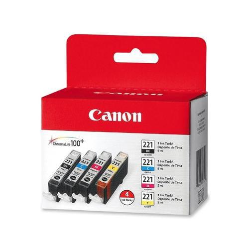 Canon CLI-221 Ink Cartridges CNMCLI221CLPK