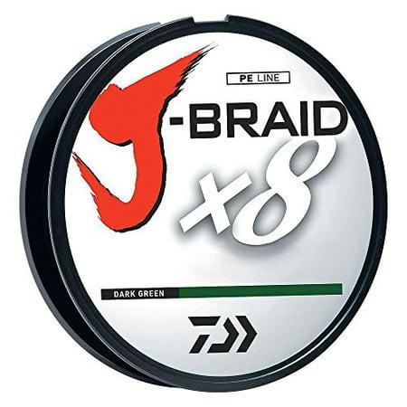Daiwa J Braid Braided Dark Green Line 120lb 330yd 022 Quot 55mm Jb8u120 300dg Walmart Canada