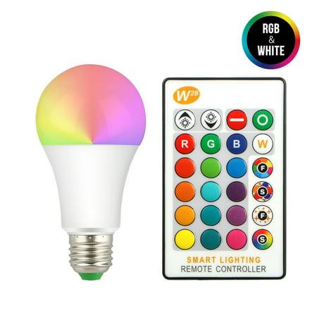 5W RGB LED Bulb E27 16Color Changing Atmosphere Decorative Light Flash Strobe (Strobe Light Bulbs)