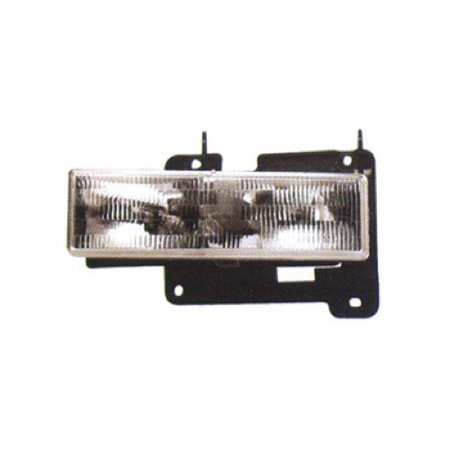 1992 Chevrolet K1500 Window - Go-Parts OE Replacement for 1992 - 1999 Chevrolet K1500 Suburban Front Headlight Assembly Housing / Lens / Cover - Left (Driver) Side 15034929 GM2502101 Replacement For Chevrolet K1500 Suburban