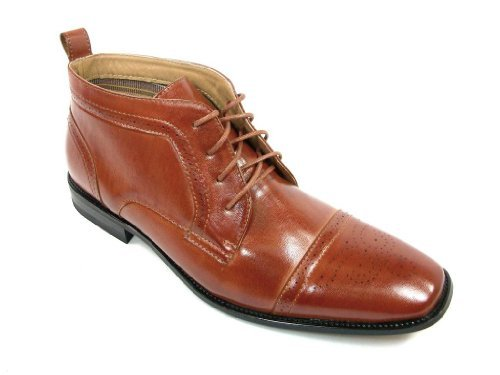 Ferro Aldo Men's 806005A Classic Brown Ankle Boots