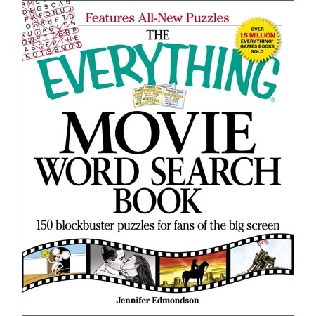 The Everything Movie Word Search Book : 150 blockbuster puzzles for fans of the big - Printable Halloween Word Searches For Adults