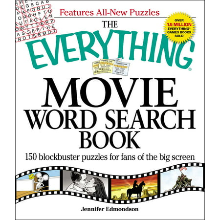 The Everything Movie Word Search Book : 150 blockbuster puzzles for fans of the big screen](Easy Halloween Word Search Puzzles)