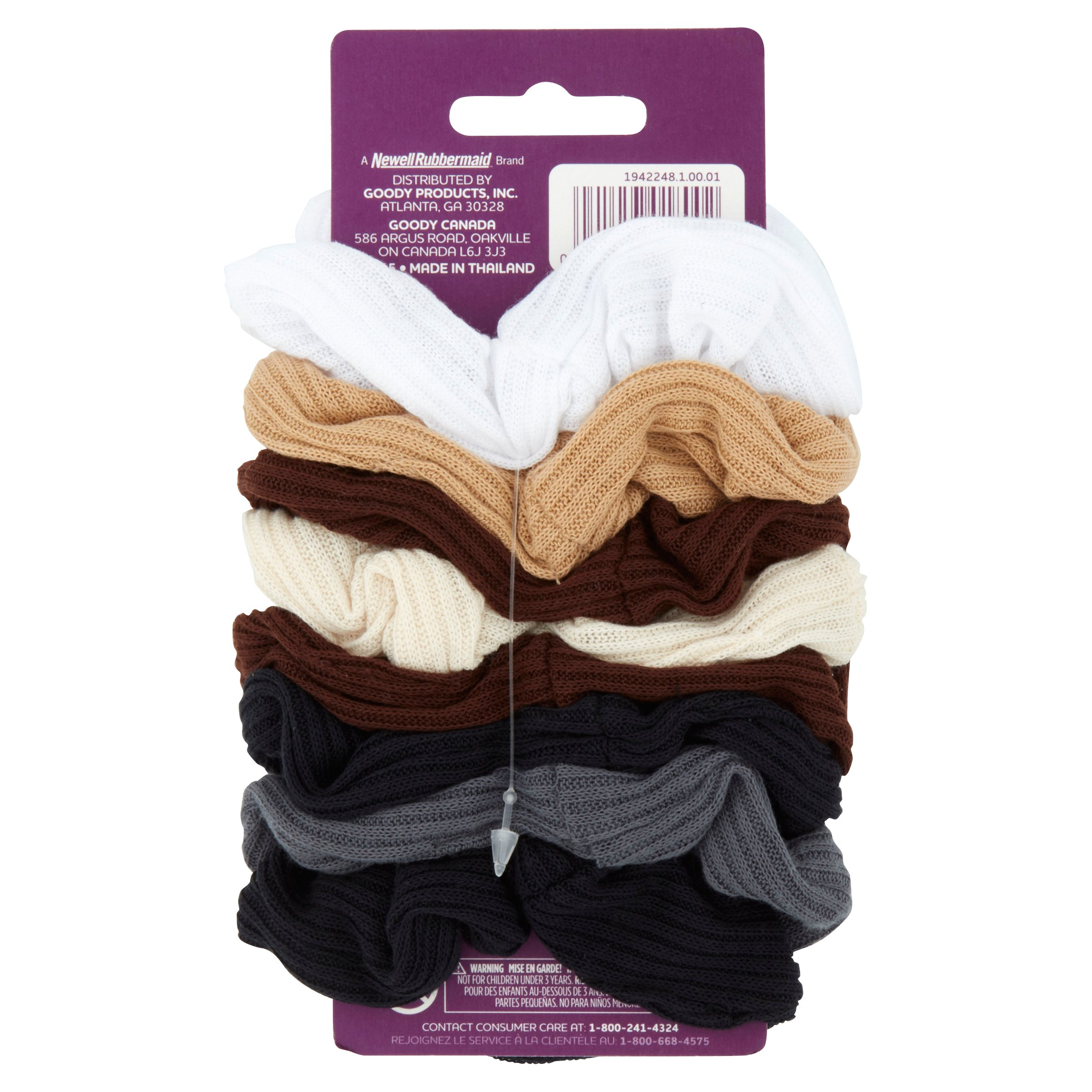 Goody - Goody Ouchless Ribbed Hair Scrunchies 87da762be62