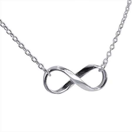 Aeravida Handmade Endless Love Infinity Symbol 925 Sterling Silver