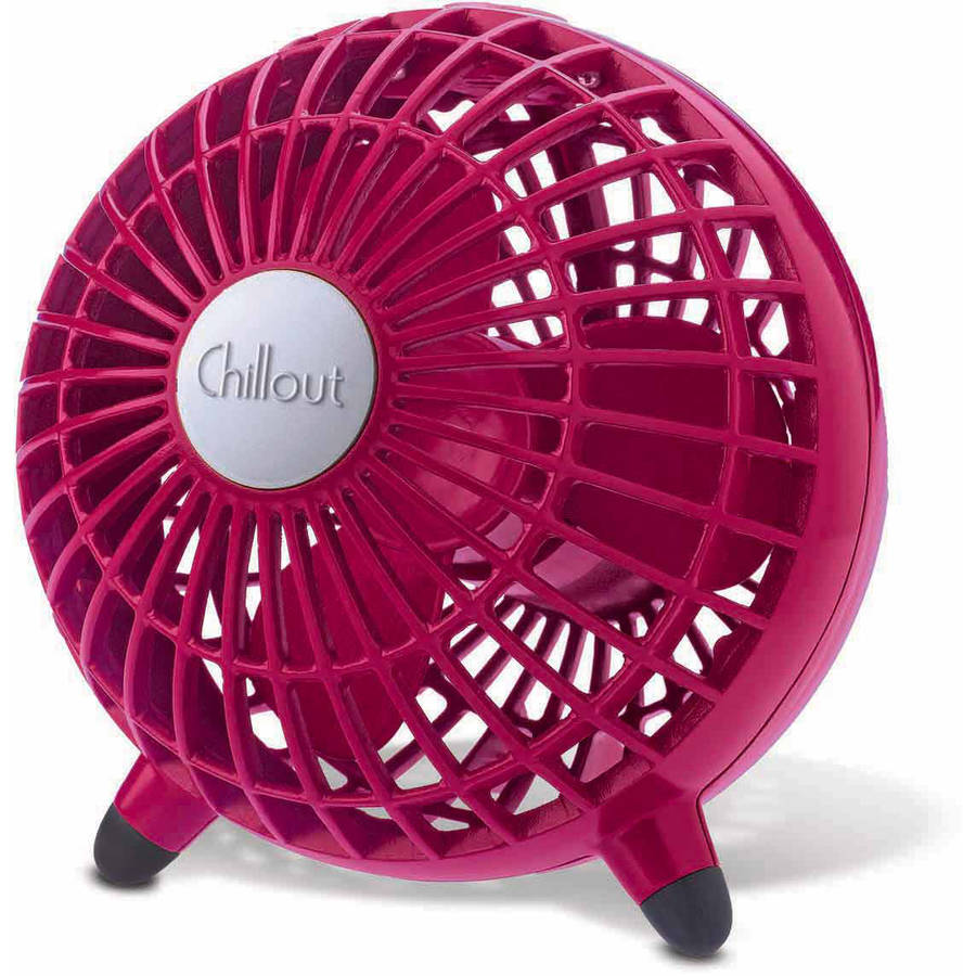 ChillOut USB Desk Fan GF2MWM, Red