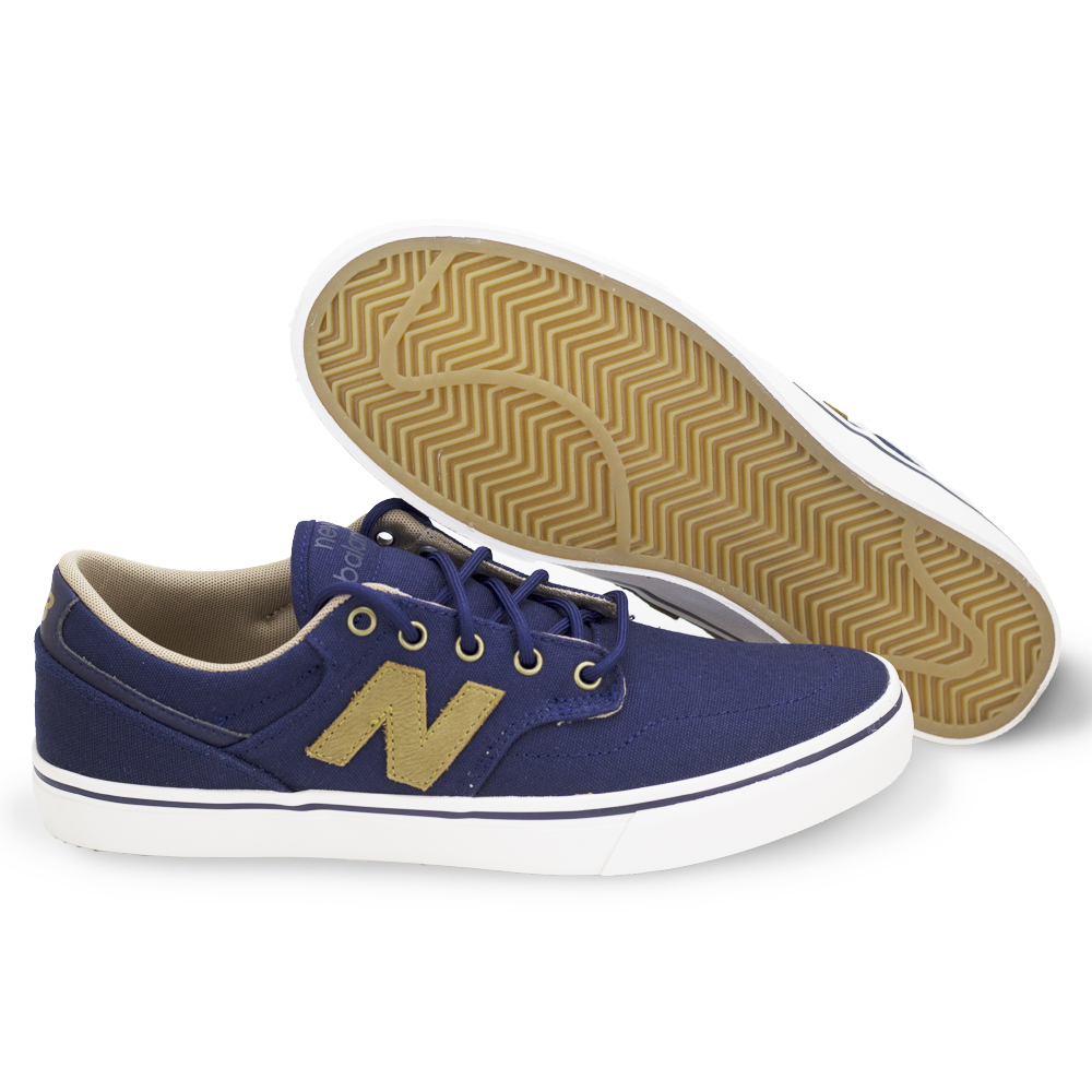 New Balance All Coasts 331 (Navy/Brown) Men's Skate Shoes-9