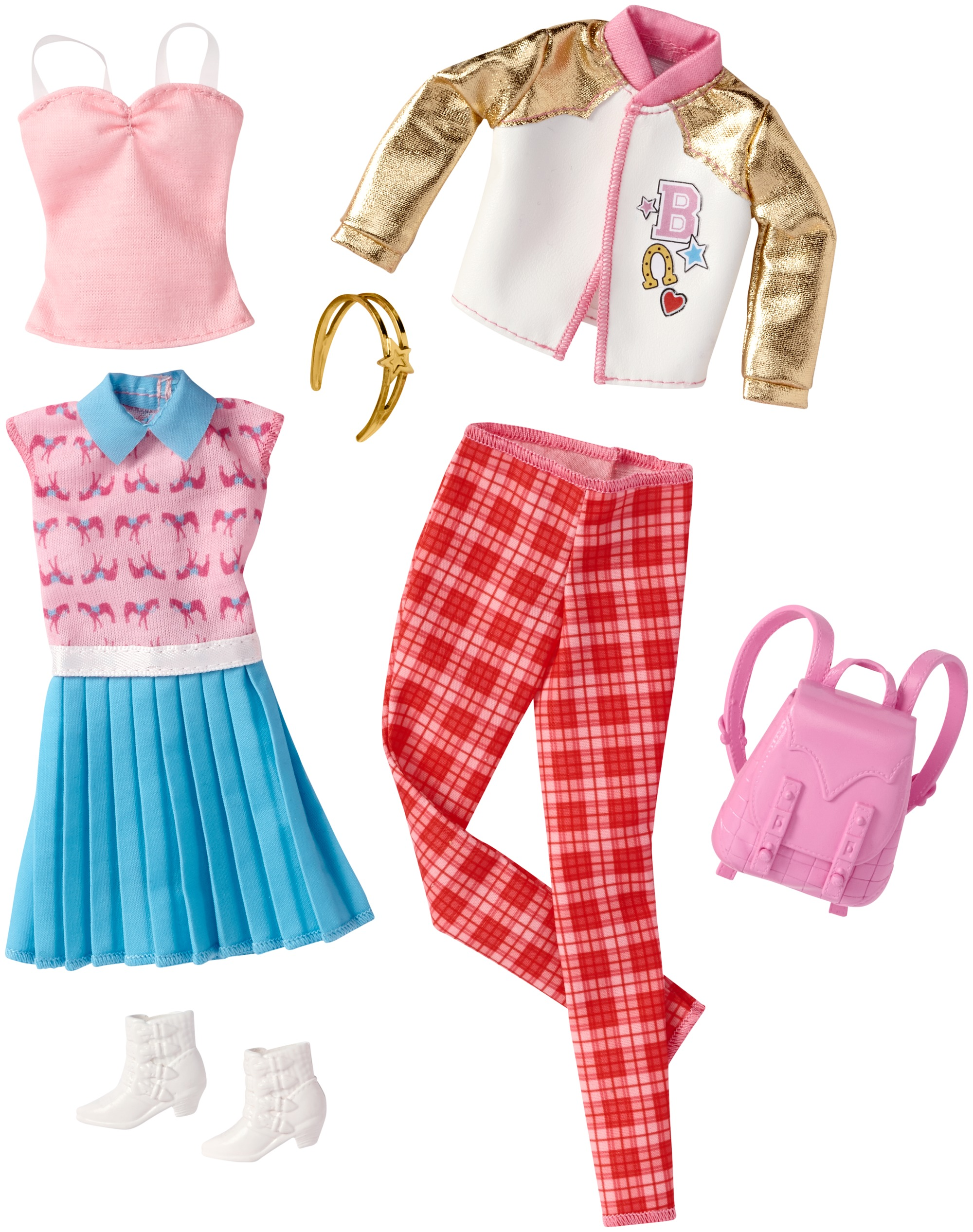 63ef31f8ab Barbie Fashion Outfit 2-Pack  8 - Walmart.com