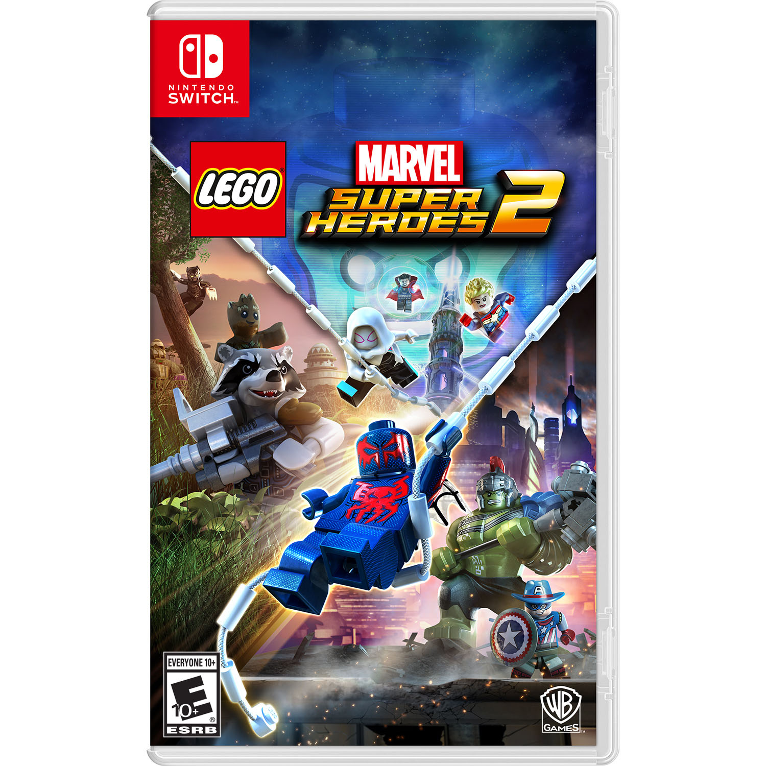 Warner Bros. LEGO Marvel Superheroes 2 for Nintendo Switch, 883929597819
