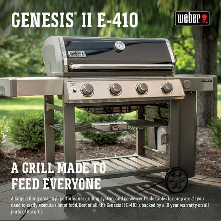 Weber Genesis II E-410 LP, Black