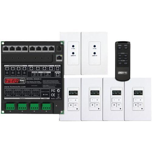 HAI Hi-Fi 2 4 Zone, 4 Source Kit