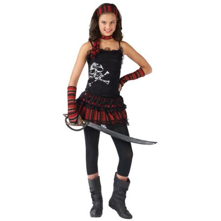 Costumes For All Occasions Fw110562Sm Pirate Skull Rocker Child (Girls Rockin' Skull Pirate Costumes)