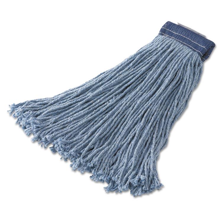 Non-Launderable Cotton/synthetic Cut-End Wet Mop Heads, Ctn/syn, 16oz, Be,12/ct