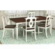 7-Pc Rectangular Dining Table and Chair Set