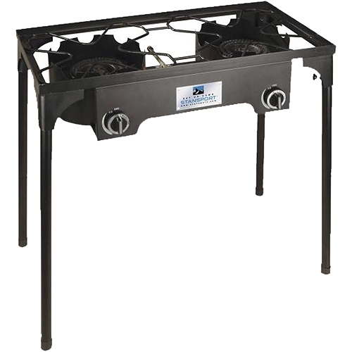Stansport 2 Burner Cast Iron Stove with Stand by Stansport