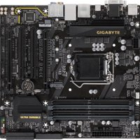 Gigabyte Ultra Durable GA-H270M-D3H (rev. 1.0) Micro ATX Desktop Motherboard with Intel H270 Chipset