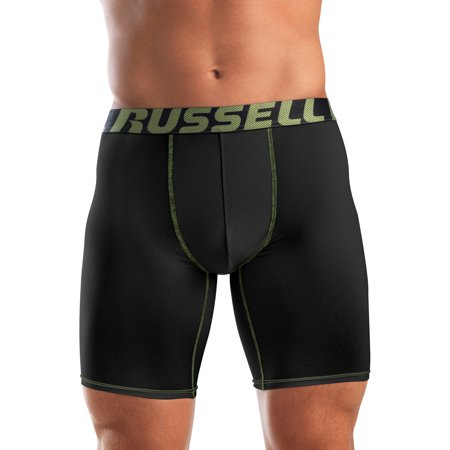 Find lasting comfort with these men's Hanes boxer briefs.