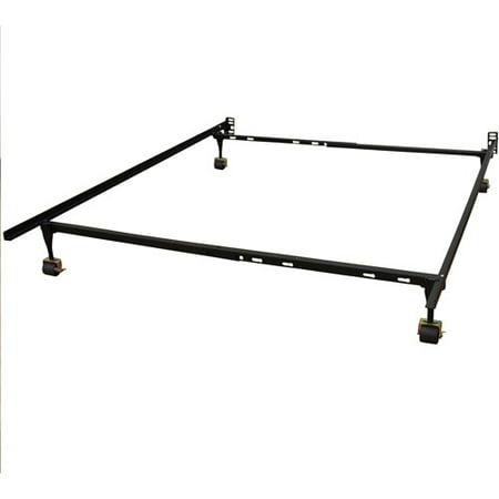 modern sleep standard adjustable metal bed frame multiple sizes. Black Bedroom Furniture Sets. Home Design Ideas