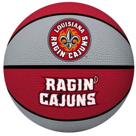 Louisiana Lafayette Basketball - University of Louisiana Lafayette Ragin Cagin Rawlings Crossover Full Size Basketball