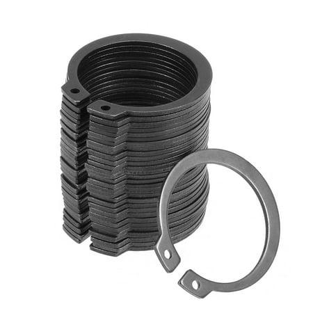 38mm External Circlips C-Clip Retaining Snap Rings 65Mn 30pcs - image 1 de 3