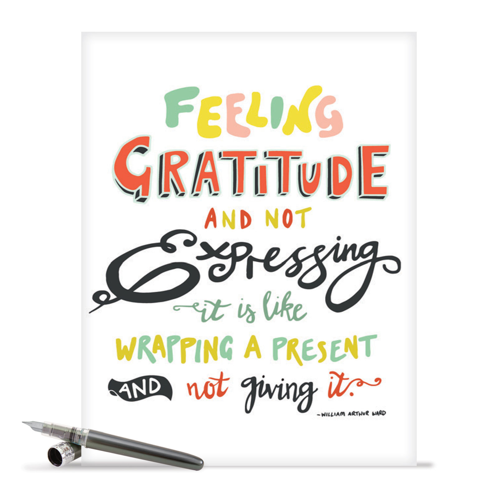 J9633ityg Jumbo Thank You Card Words Of Appreciation Featuring