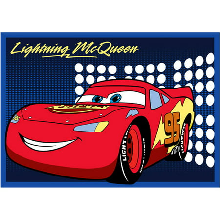 Disney Cars Lightning Mcqueen Rug