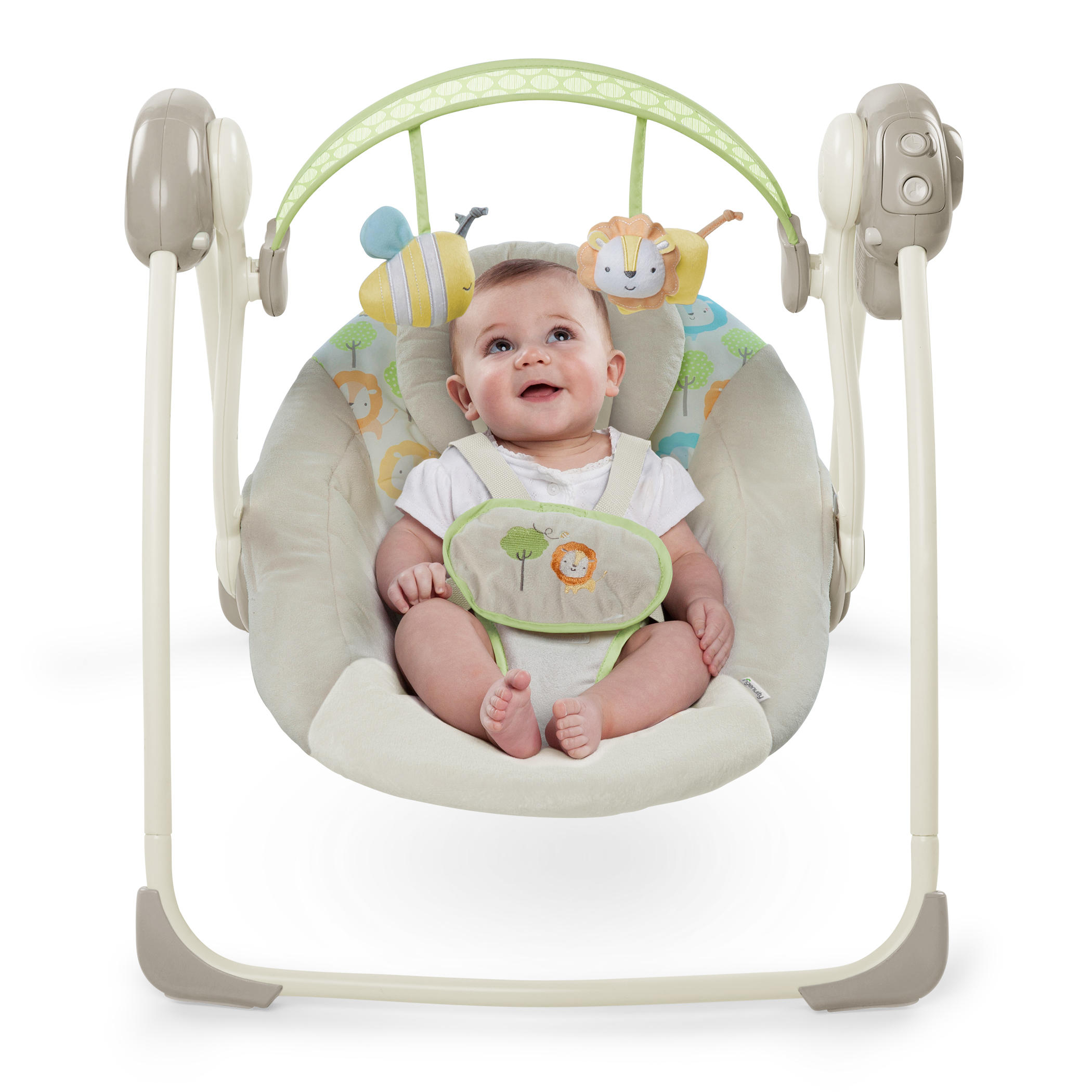 Ingenuity Soothe n Delight Portable Swing Sunny Snuggles