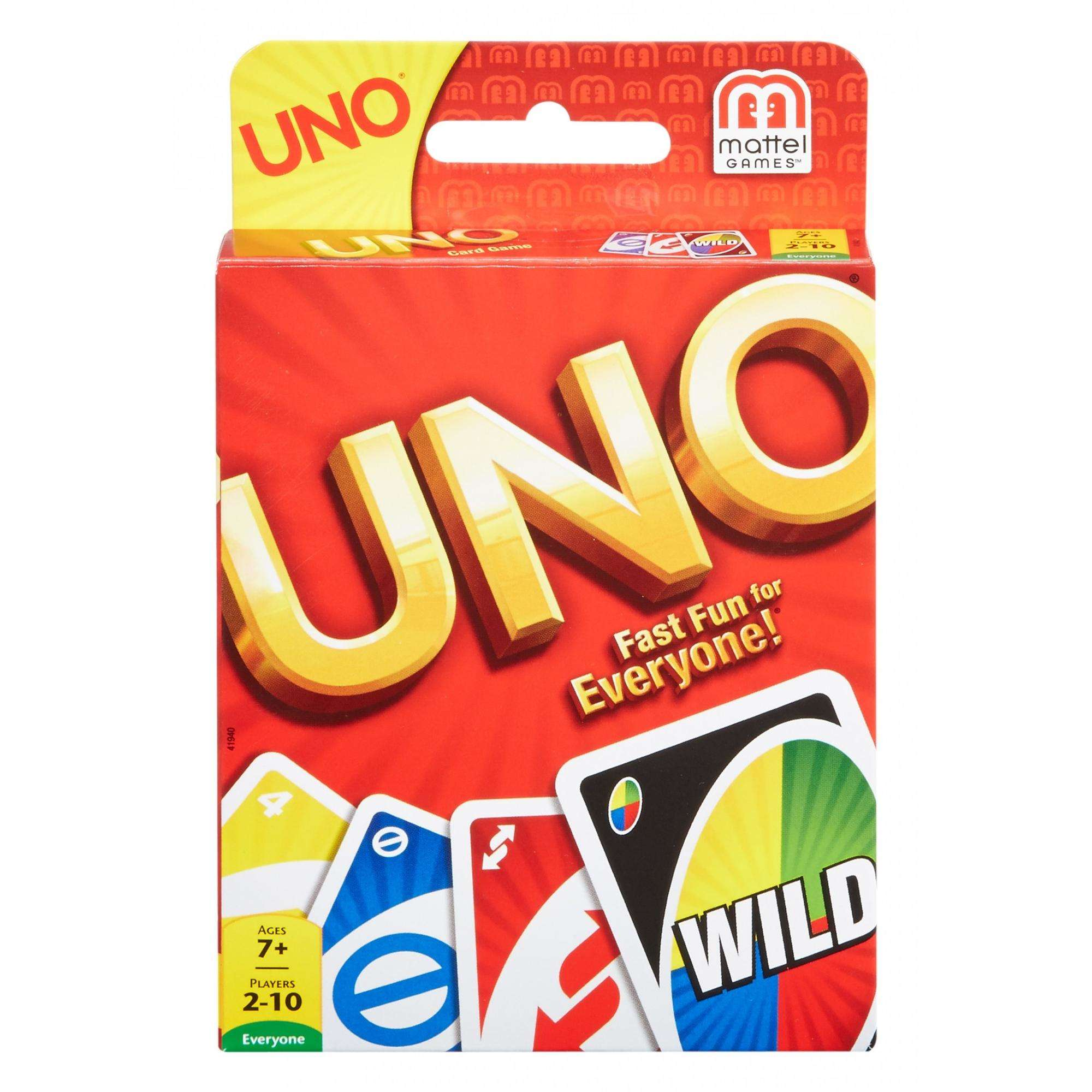🛒- Walmart- Uno Card Game