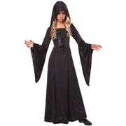 Hooded Robe Child Costume (Black/Black)