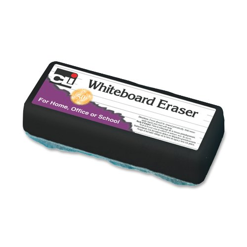 Cli Marker Board Eraser - Washable - White - Felt (LEO74500)