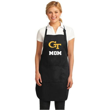 Georgia Tech Apron (Georgia Tech Mom Apron DELUXE GA Tech Mom APRONS )