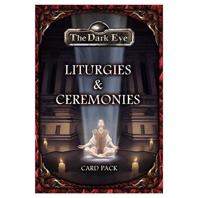 Ulisses North America ULIUS25510E The Dark Eye Card Pack - Liturgies & Ceremonies - image 1 of 1
