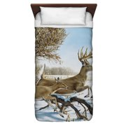Wild Wings Breaking Cover 2 Twin Duvet Cover White 68X88