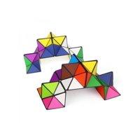 Topumt Kids Gift Magic Cube Twist Fidget Irregular Anti-Stress Toy