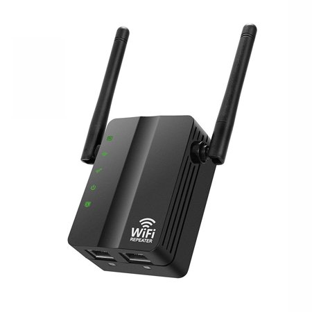 WiFi Range Extender Wireless N 300M Repeater Dual Antenna Router AP Booster  94276903486 | Walmart Canada