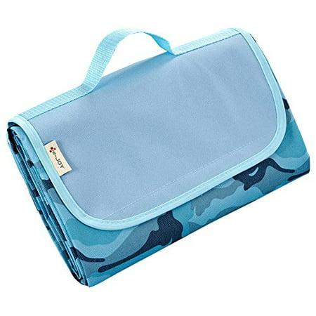 Blue Camo Beach Mat for $<!---->