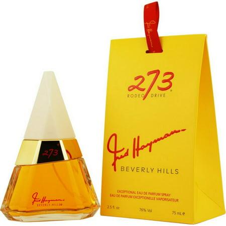 Fred Hayman 273 Body Spray - 2 Pack - 273 By Fred Hayman Eau de Parfum Spray for Women 2.5 oz