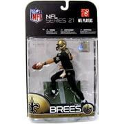 Drew Brees Action Figure All Black Uniform Sports Picks Series 21 NFL