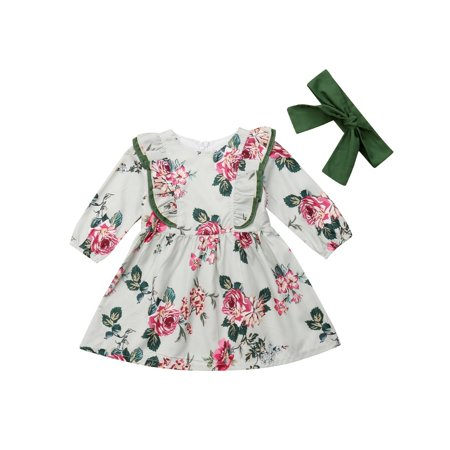 Hot Toddler Kids Baby Girls Princess Dress Pageant Party Wedding Dresses - Princess Gown For Kids