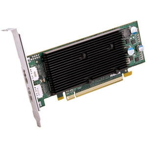 Matrox - M9128-E1024LAF - Matrox M9128 Graphic Card - 1 GB DDR2 SDRAM - PCI Express x16 - Low-profile - 2560 x 1600 -