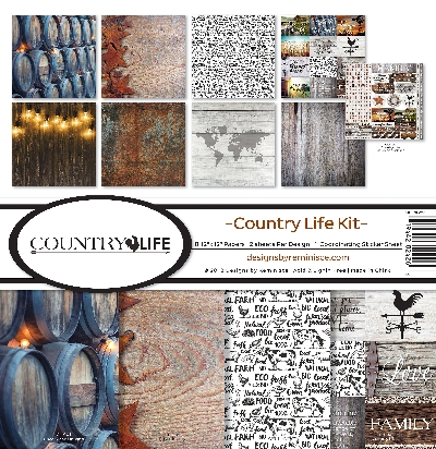 Reminisce Country Life Collection Kit 12x12